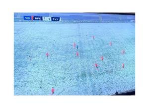 برگزاری مسابقه فوتبال با یک تیم نامرئی در ترکیه!