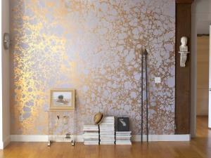 چطور با کاغذ دیواری خانه را بزرگ و کوچک کنید؟