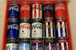 نوشابههای کمپانی کوکاکولا به شکل تیمهای لیگ برتری