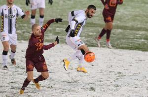 قلیزاده و کاوه در برف