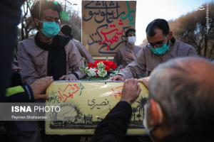 عکس/ تشییع پیکر ۴ شهید تازه تفحص شده در اصفهان