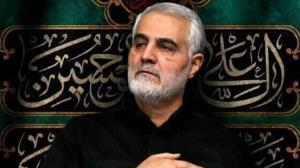 گریههای حاج قاسم سلیمانی در روضه مادر سادات