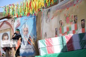 پیکر مطهر ۲ شهید گمنام در یزد تشییع شد