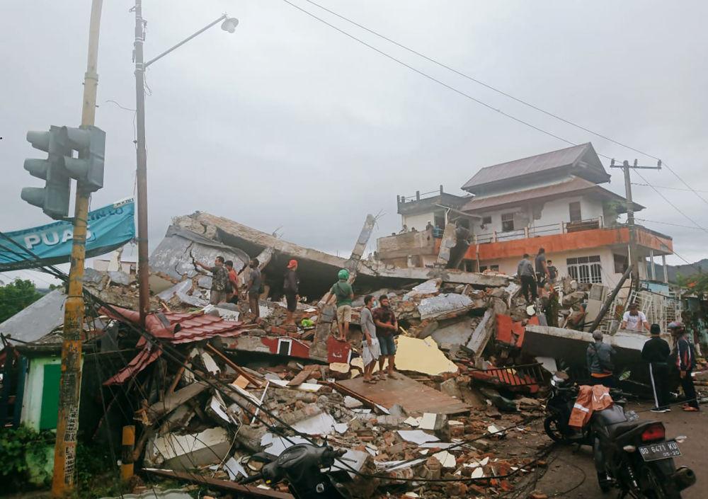 پیامدهای زلزله در اندونزی