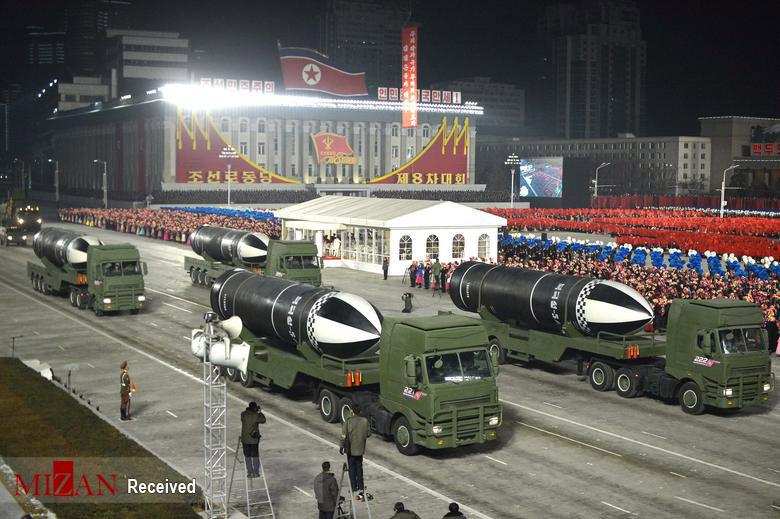 عکس/ نمایش نظامی کره شمالی