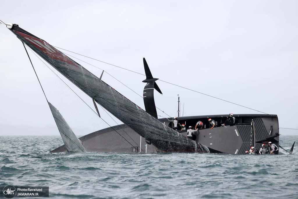 واژگونی قایق در مسابقات