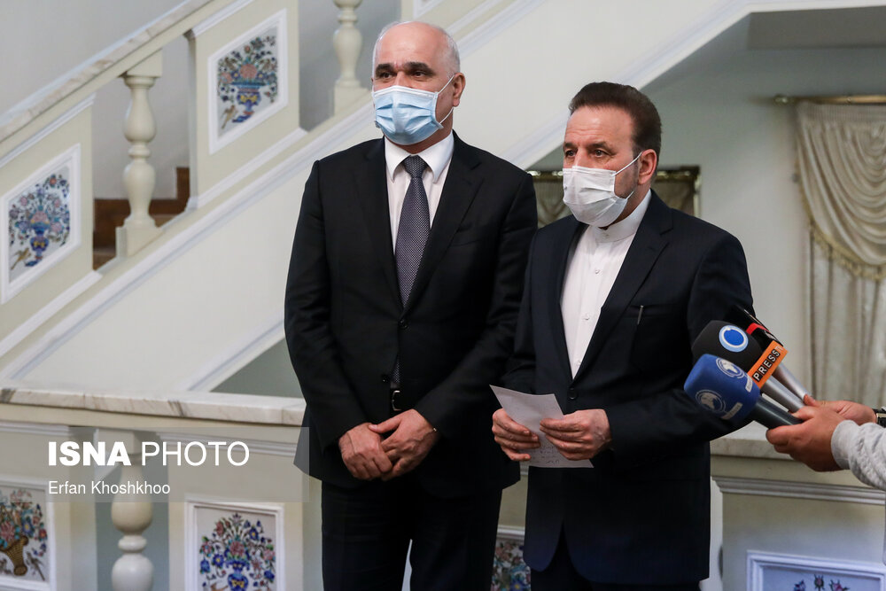 دیدار معاون نخست وزیر جمهوری آذربایجان با واعظی