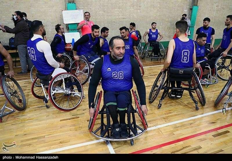 اردوی تیم ملی بسکتبال با ویلچر
