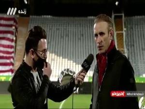 نظر گلمحمدی در رابطه با تصمیمات داوری بازیهای پرسپولیس