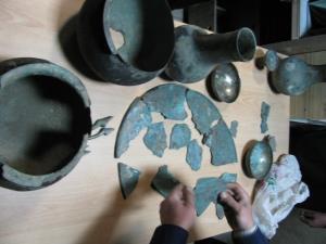 کشف اموال تاریخی و فرهنگی در تبریز