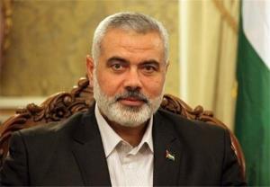 تقدیر هنیه از ایران بخاطر توجه به مسئله فلسطین