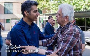 امیرحاج رضایی: علی کریمی نماد اعتراض در فوتبال ایران است