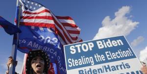 ۷۵ درصد جمهوریخواهان بایدن را رئیسجمهور مشروع نمیدانند