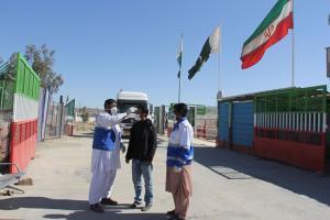 استمرار پایش ورودیهای مرزی در میرجاوه؛ انجام ۶۰۰ تست کووید از مسافرین پاکستانی