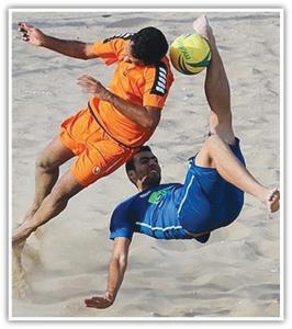 فوتبال ساحلی همچنان بیخط و نشان!