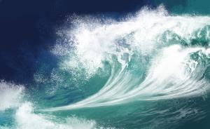 ویدئویی دیدنی از رویارویی با موج های خروشان دریا