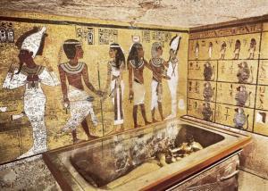 اکتشاف معبد و تابوتهای باستانی جدید در مصر