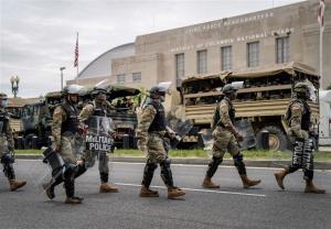 پنتاگون: بیش از ۲۱ هزار نیروی گارد ملی در واشنگتن مستقر شدهاند