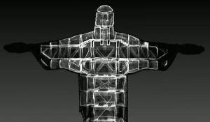 اسکلت مجسمه مشهور مسیح در برزیل نمایان شد