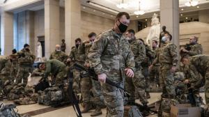 تغییر چهره واشنگتن به پادگان نظامی
