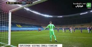گل دوم اتلتیکبیلبائو به بارسلونا