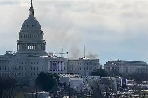 ساختمان کنگره آمریکا تعطیل شد؛ توصیه امنیتی پلیس به کارکنان