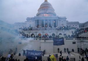 اعتراضات در برخی شهرهای آمریکا در آستانه تحلیف بایدن