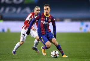 تساوی بارسلونا و اتلتیکبیلبائو در نیمه اول