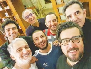 چهره ها/ سلفی محسن کیایی با دوستاش و نوید محمدزاده