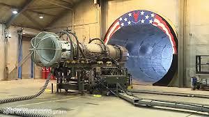 تست موتور جت F16 در حالت پس سوز بنزین