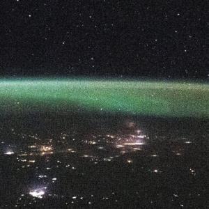 تصویر جدید ایستگاه فضایی بینالمللی از شفق قطبی