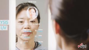 آینه هوشمندی که سلامت شما را پیگیری میکند