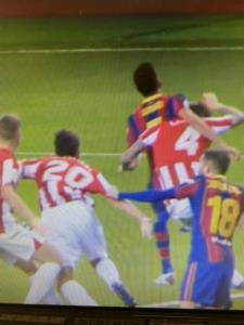 پنالتی دقیقه 93 بیلبائو مقابل بارسلونا سوخت؟