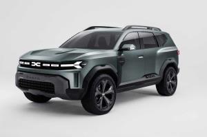 نگاهی به SUV جدید کمپانی Dacia Bigster 2021