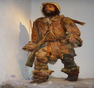 انسان های اولیه چگونه لباس هایشان را تزئین می کردند؟