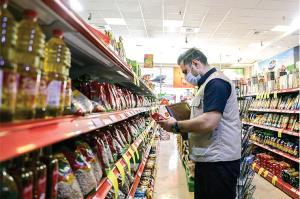 حذف برچسب تخفیف درصدی از روی کالاها و قفسه فروشگاه ها