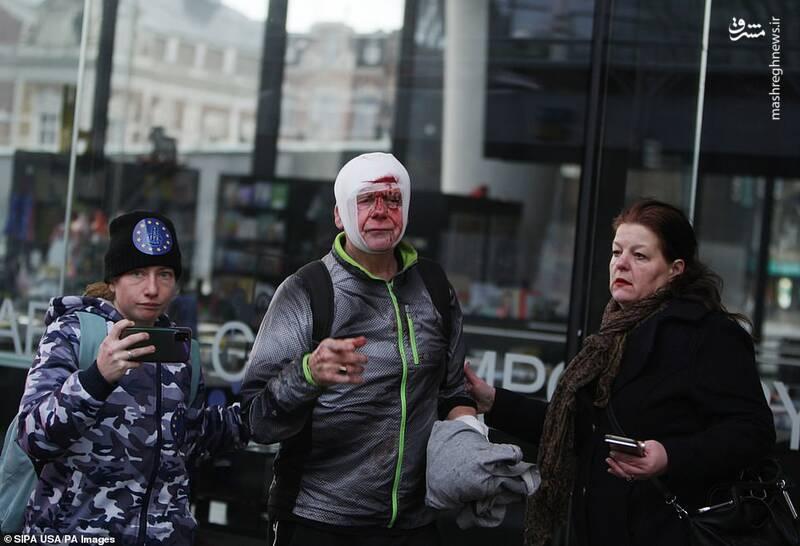 اعتراضات خونین سراسری در آمستردام هلند