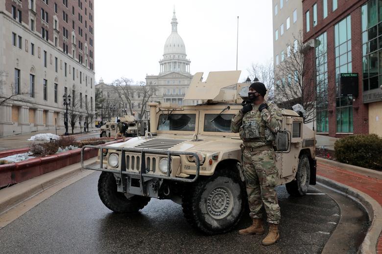 عکس/ خیابان های مسدود شده واشنگتن