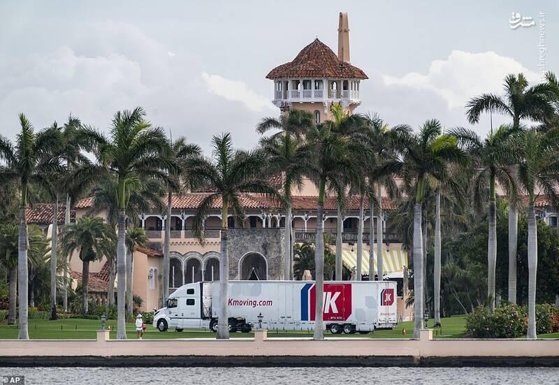 تحرکات مشکوک در محل اقامت ترامپ