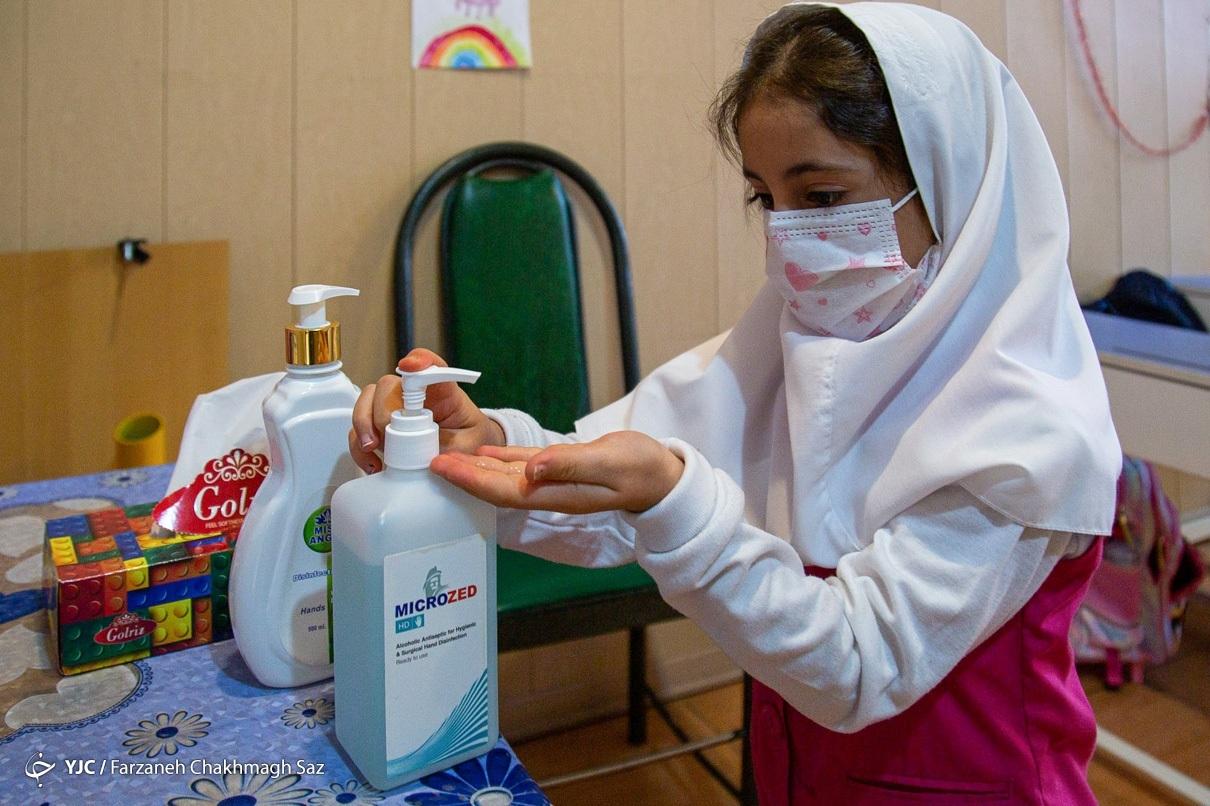 عکس/ بازگشایی مدارس ابتدایی در شیراز