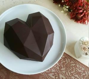 ترفند عالی برای شکلات قلبی توپر بسیار زیبا