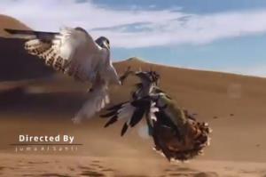 مبارزه مرگبار دو شکارچی قهار