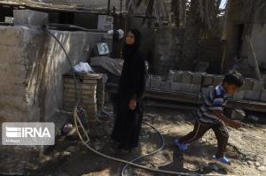 مشکل کمبود آب ۱۳ روستای داجیوند هلیلان رفع میشود