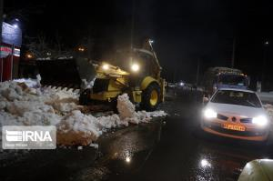 آزادراه زنجان- تبریز با تلاش راهداران بازگشایی شد