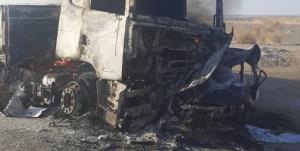 ۲ کشته در تصادف محور «طبس-یزد»