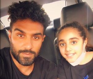 چهرهها/ همزمانی تولد میلاد میداوودی و دخترش در  یک روز