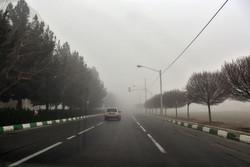 آسمان ابری و مهآلود خوزستان