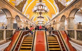 زیباییهای خیره کننده متروی مسکو