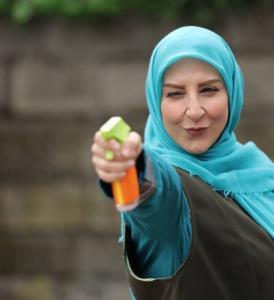 چهره ها/ شلیک کردن مرجانه گلچین در سریال تلویزیونی