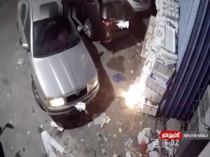 آتش گرفتن یک انبار در چین